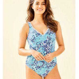 Lilly Pulitzer Araza One-Piece Swimsuit Size 6 NWT